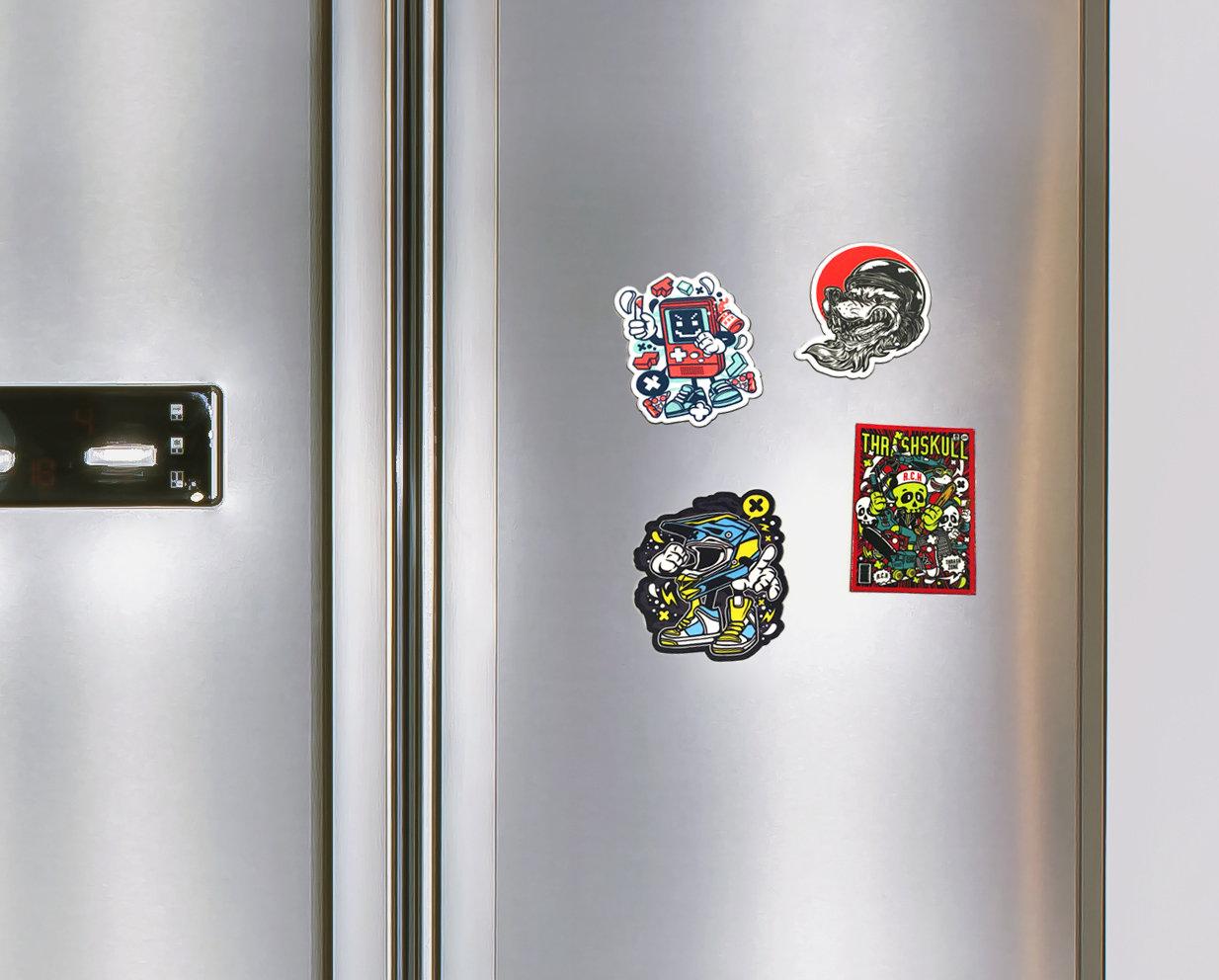 magnesy na lodówkę